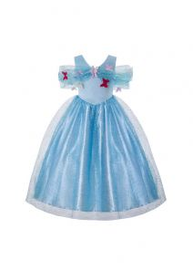 Elegant Cinderella Girl Birthday Party Dress