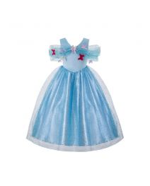 Elegant Cinderella Girl Birthday Party Costume