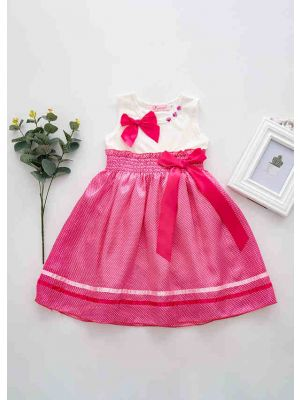 Hot Pink Summer Boutique Party Girls Dress