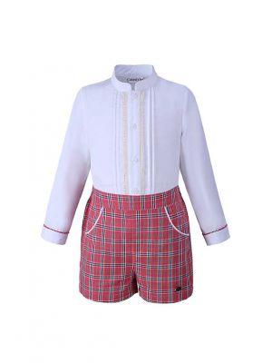 Grid Boy Clothing Sets