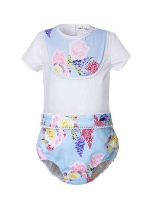 Floral Boys Clothing Set