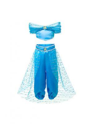 Girl Jasmine Princess Set Cosplay Costume D36