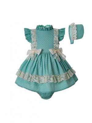 Toddler Girl Mint Green Clothing Set