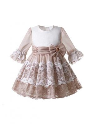 Newest Lace Bow-knot Dress