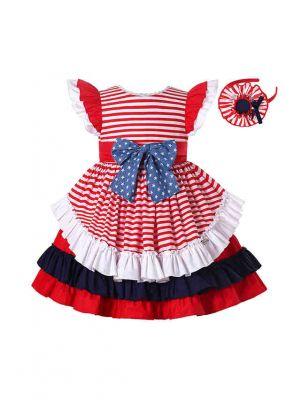 (PRE-ORDER)Independence Day Patriotic Dress