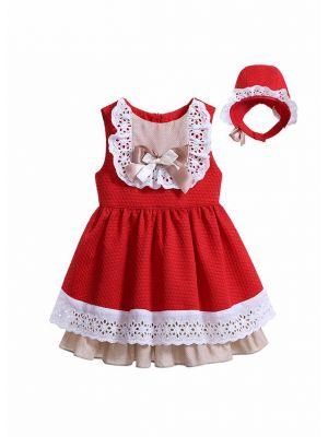Red Girl Princess Dress