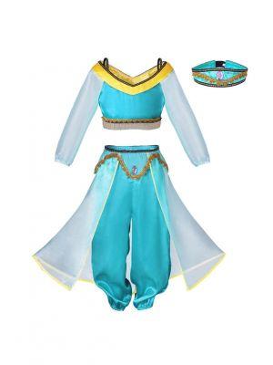 Aladdin's Lamp Jasmine Indian Cosplay Costume