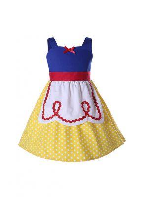 Snow White Yellow Dress