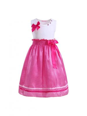 Hot Pink Summer Boutique Party Girls Dress
