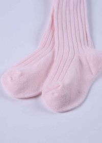 Pink 100% Soft Cotton Girls Pantyhose