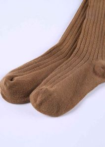 Camel 100% Soft Cotton Girls Pantyhose