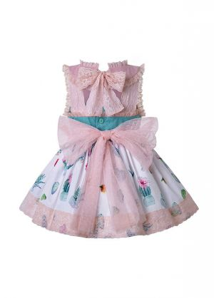 3 Pieces Princess Babies Ruffled Boutique Outfits + Pink Bloomers + Hat