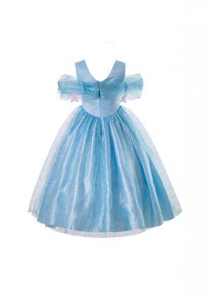Elegant Cinderella Girl Birthday Party Costume