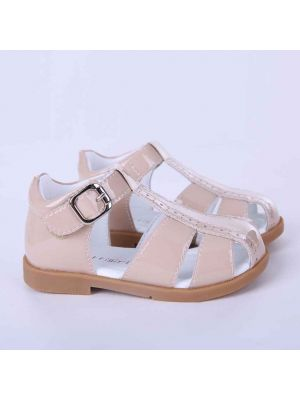 Camel Fashion Microfiber Leather Boys Sandals Shoes