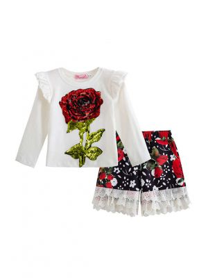 Kids Outfit Smart Casual Girls Clothing Sets