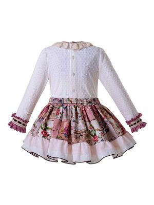 (ONLY 4Y 6Y Left) Flower Girls Clothing Sets With Handband