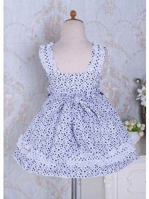 Toddler Girls Dot Print Dress