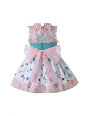 2020 Spring & Summer Printed Lolita Princess Boutique Dress + Hand Headband