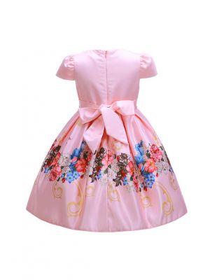 Flower Girl Dress With Beading
